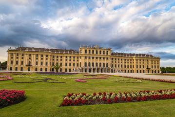 Garden Poster Vienna Schonbrunn Palace - Vienna - Austria
