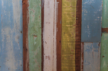Colors old wooden background texture