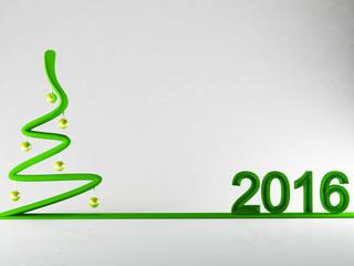 creative new year's tre