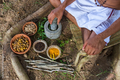 promote traditional indian medicine - HD 1300×956