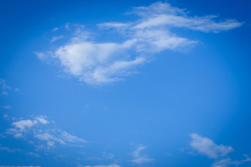 blue sky weather background with white clouds