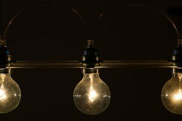 Lightbulb vintage illuminated