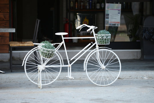Postcard from Greece - The White Bicycle.