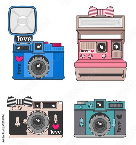Camera Vetor Desenho Camera Fotografica Stock Image And Royalty