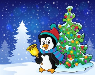 Christmas penguin topic image 7