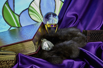 Journal of Mysteries with Treasures and Stained Glass