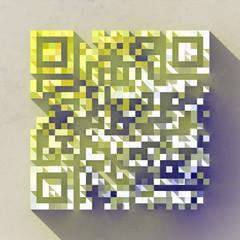 Color QR Code Illustration