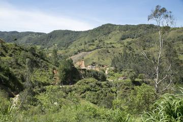 Paisaje montañoso colombiano