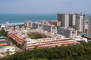 Newly Developed Condominium Buildings in Highly Americanized Barra da Tijuca District in Rio de Janeiro
