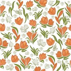 Arya Floral Seamless Pattern