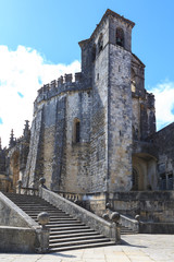 Medieval Templar castle in Tomar, Portugal.