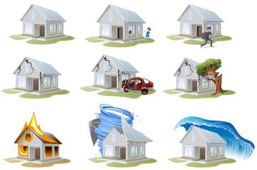 Home insurance. Property insurance