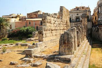 Temple of Apollo Ortygia Sicily