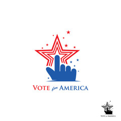 vote for america logo