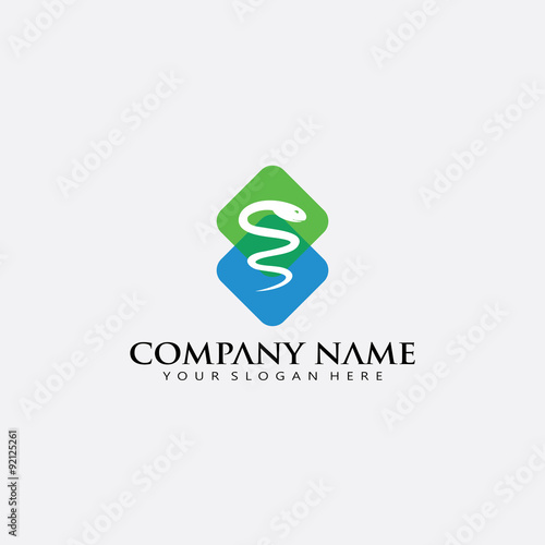 """modern hospital emergency pharmacy medicine snake logo ..."