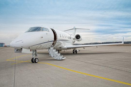 corporate private jet - plane