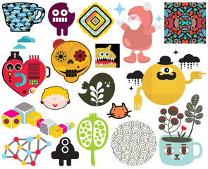 Mix of images and icons. vol.66