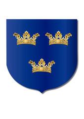 Armas menores de Suecia: Las 3 coronas