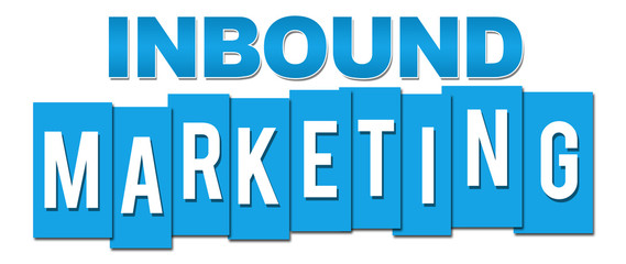 Inbound Marketing Blue Stripes