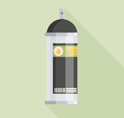 Spray Paint Can .Vector Flat Icon