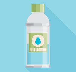 Vector Illustration of bottle of water