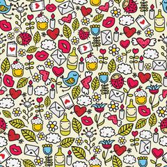 Funny romantic pattern.