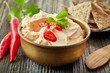 cream cheese with chili and tomato, dip sauce