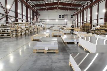 Distribution warehouse center, logistics