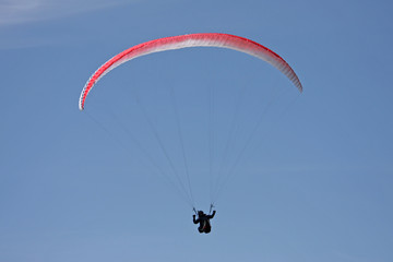 Foto op Canvas Luchtsport Paraglider