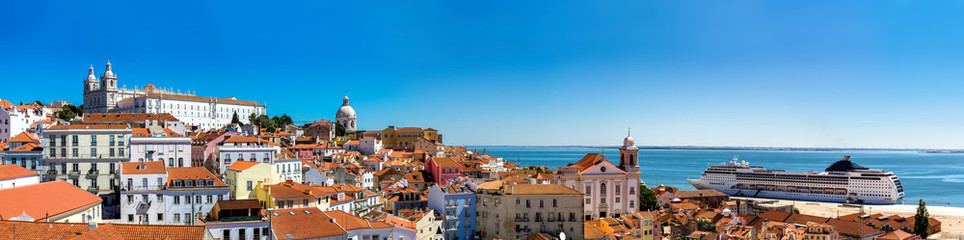 Fotomurales - Panorama of Lisbon