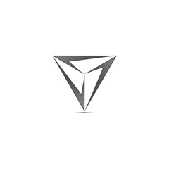 Triangle Corner Logo v.2