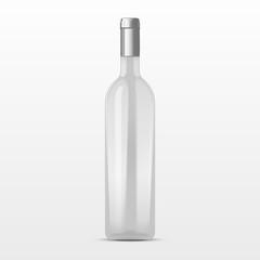 high class champagne bottle