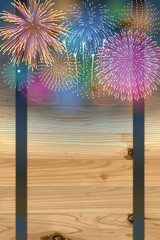 Barrel background(Fireworks)