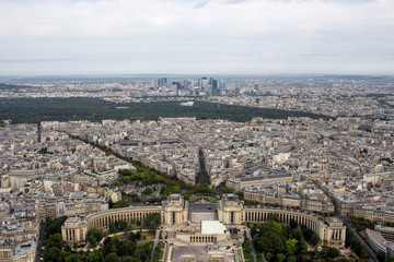 beautiful view of the Paris, France