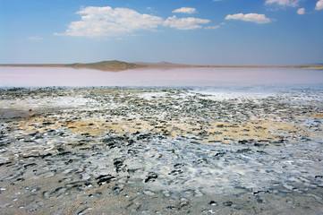 Koyashskoye salt lake