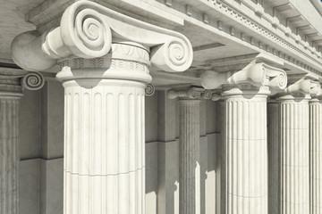Columns. ionic order.