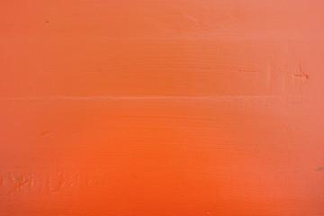 Orange wood background.