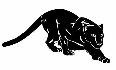 Black Panther sneaks