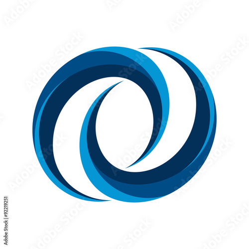 quotcool chain infinity vector logo iconquot stock image and