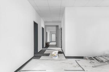 Baustelle sanieren renovieren