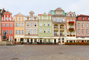Wall Mural - renaissance houses , Poznan, Poland