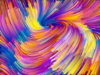 Virtual Color Vortex