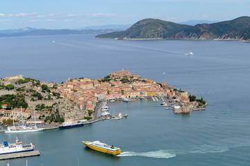 Portoferraio harbor- Elba island