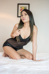 young sexy Asian woman