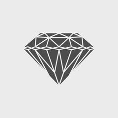 Diamond icon - Vector