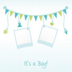 """Sweet Baby Card """"It`s a Boy"""""""