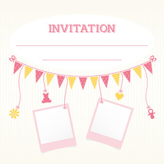 Baby Party Invitation