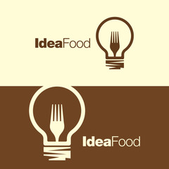 Cooking ideas symbol icon/ logo template