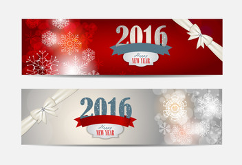 Abstract Christmas and New Year Background. Vector Illustration