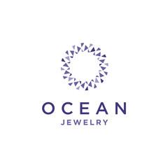 Diamond O Letter Logo
